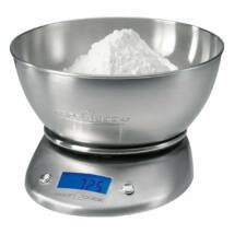 Proficook KW1040 konyhai mérleg, 2l mérőtál, elemes,5kg-ig